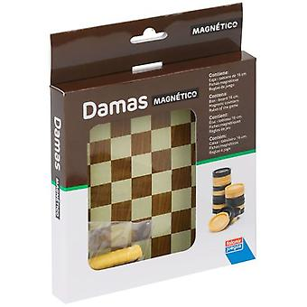 Falomir MAGNETIC CHECKERS (Toys , Boardgames , Traditionals)