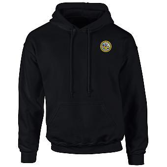 US Army Seal broderad Logo - Hoodie