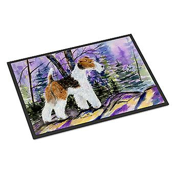 Carolines Treasures  SS8630JMAT Fox Terrier Indoor or Outdoor Mat 24x36 Doormat