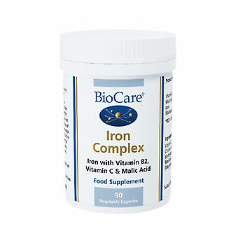 Biocare Iron Complex 200mg (as ascorbate malate 14mg elemental iron), 90 vegi capsules