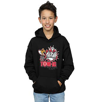 Tom And Jerry Boys Tomic Energy Hoodie