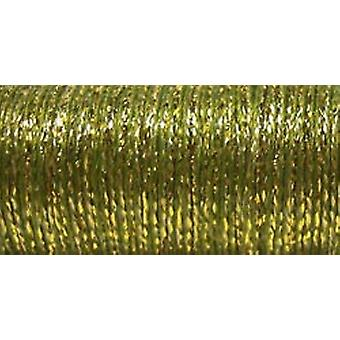 Kreinik Very Fine Metallic Braid #4 11 Meters 12 Yards Golden Olive Vf 5835