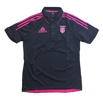 ADIDAS Stade Francais Rugby Herren Polo-Shirt [Grau]
