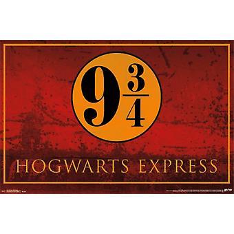 Гарри Поттер - Hogwarts Express Плакат Печать