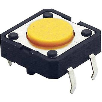 Pushbutton 24 Vdc 0.05 A 1 x Off/(On) Omron B3F405
