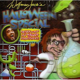 Wolfman Jacks Halloween Special - skræmmende lyde [CD] USA import