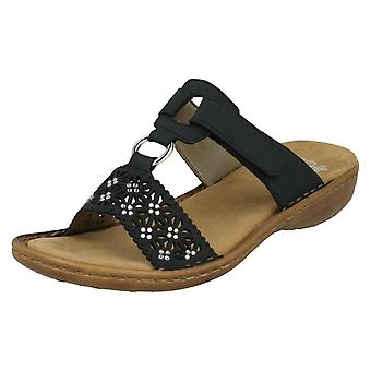 Ladies Rieker Mule Sandals 60871