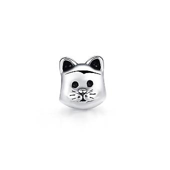 Charms Bead cat stainless steel head