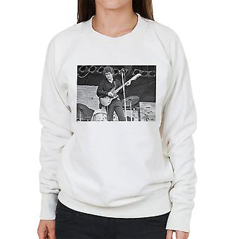 Tim Buckley på Knebworth 1974 kvinners Sweatshirt