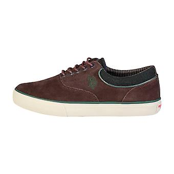U.S. Polo Men Sneakers Brown