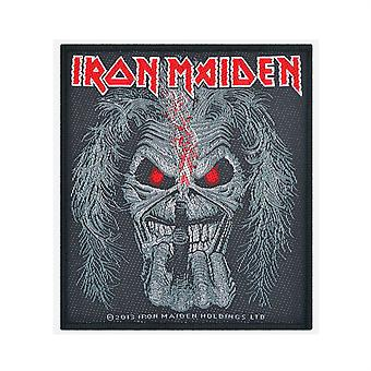 Iron Maiden Eddie Candle Finger gewebten Patch