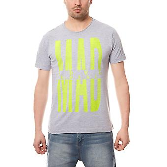 RUSTY NEAL MAD statement T-Shirt men grey