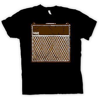 メンズ t シャツ - Vox ギター アンプ AC30 - ブルース ロック音楽