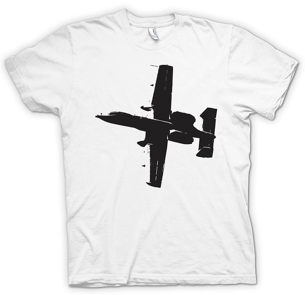Womens T-shirt - A10 Thunderbolt Tank Buster - Awesome Fighter