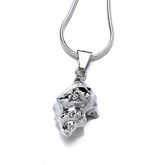 Cavendish French Silver Conch Pendant with 18-20