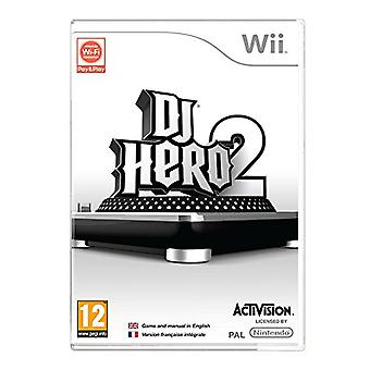 DJ Hero 2 - Game Only (Wii) - Factory Sealed