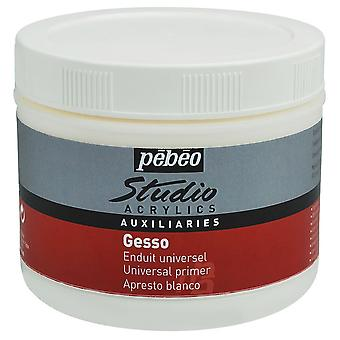 Pebeo Studio akryl hvid Gesso Primer 500ml