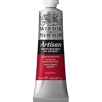 Winsor & Newton Artisan vatten blandbart olja färg 37ml (104 kadmium röd mörk S2)