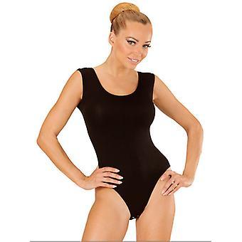 Black Sleeveless Body (Buttons Closure)
