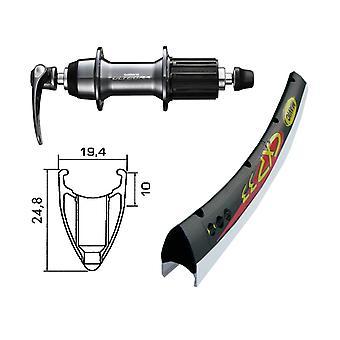 Roue arrière 28″ pièces de vélo Mavic CXP + Shimano Ultegra 10/11 vitesses (QR)