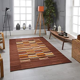Navajo Stripe Multi  Rectangle Rugs Traditional Rugs