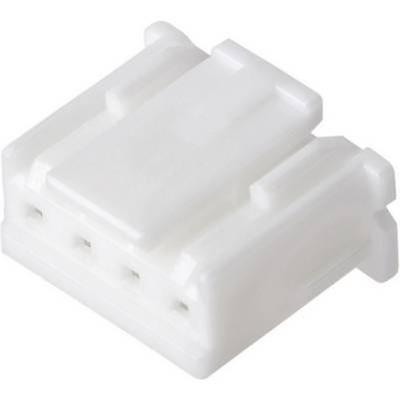 JST XAP-04V-1 Housing, XA Series Number of pins: 4 Nominal current (details): 3 A