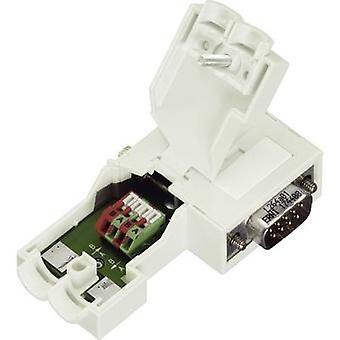 WAGO 750-971 D-SUB Plug Connector For Profibus Number of pins=9 Plug, right angle