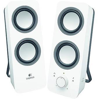 Logitech Z200 2.0 PC speaker Corded 10 W White