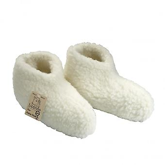 Bed shoes wool ecru 38/39