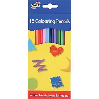 Galt 12 kleuren potloden