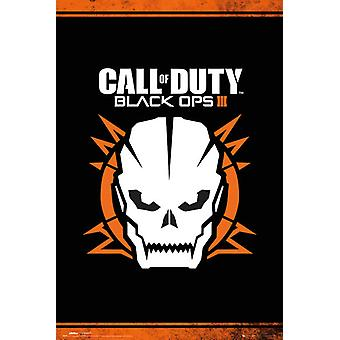 Call of Duty Black Ops 3 Skull Poster Poster Print