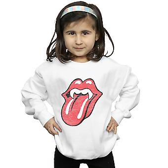 Rolling Stones Girls Vampire Tongue Sweatshirt