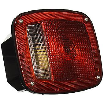 Grote 52802 Three-Stud, Chevrolet Ford Jeep Stop Tail Turn Light (w/ Side Marker & Molded Pigtail Termination, w/out Lic