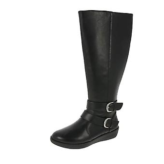 FitFlop Noemi Double Buckle Long Boots