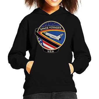 NASA STS 61C Space Shuttle Columbia Mission Patch Kid's Hooded Sweatshirt