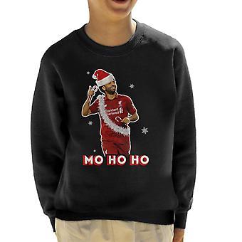 Mo HoHo Salah Football Christmas Kid's Sweatshirt