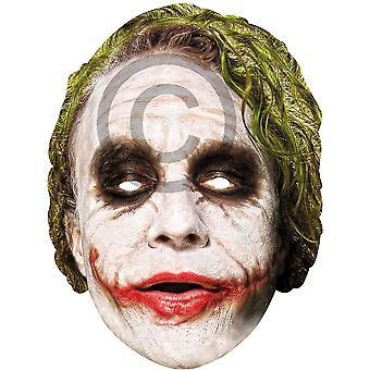 Joker Card-Gesichtsmaske