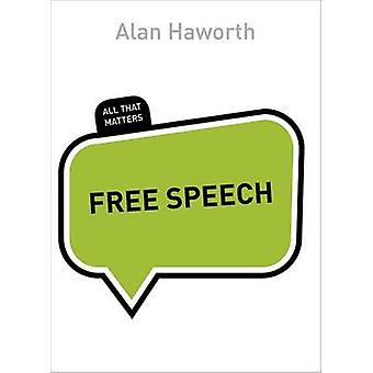 Liberdade de expressão por Alan Haworth - livro 9781473602816