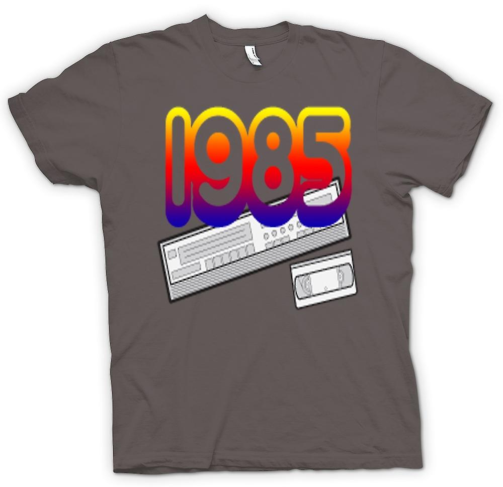 Womens T-shirt-1985 videorecorder VCR