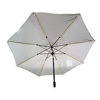 SenS-Line LED parasol Ø300 cm - ecru