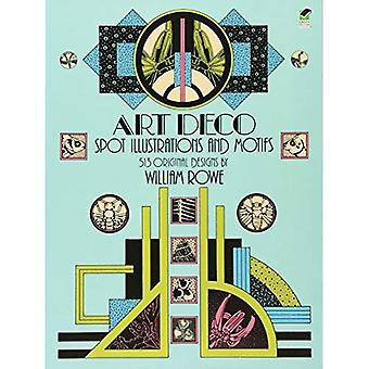Art-Deco-Spot Abbildungen und Motiven (Dover Bildarchiv)