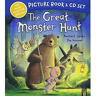 The Great Monster Hunt Book & CD