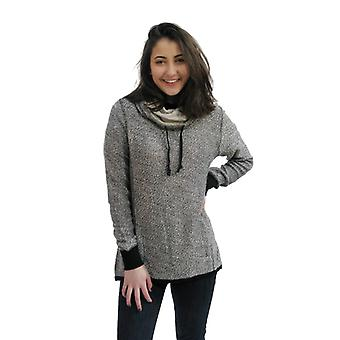 Converse Textured Cowl Neck Women's Sweatshirt