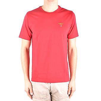 Aeronautica Militare roten Baumwoll T-shirt