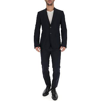Dsquared2 Black Cotton Suit