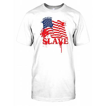 America - Home of the Slave - Conspiracy Kids T Shirt