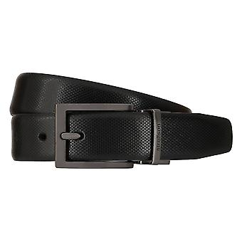 Strellson homme ceintures ceintures cuir ceinture ceinture noire 7949