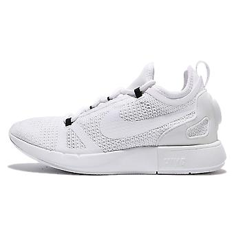 Nike Womens Duel Racer Leather Low Top Lace Up Running Sneaker