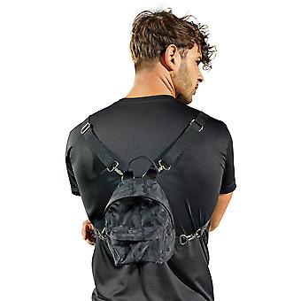 Outdoor Look Mens Camo Adjustable Mini Backpack Rucksack