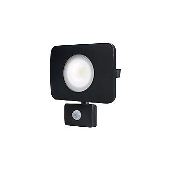 Integral - LED Floodlight 50W 3000K 4500lm PIR Sensor / Override Matt Black - ILFLC136POV